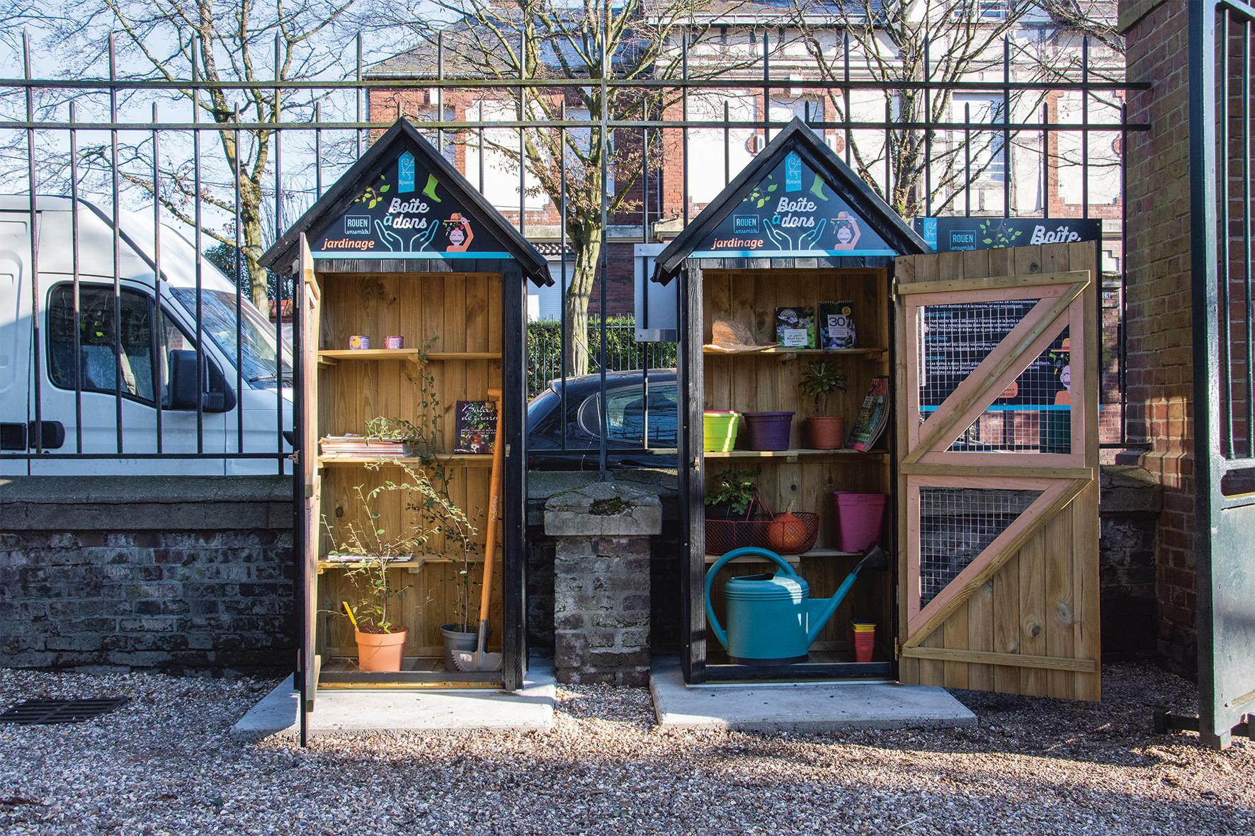 Les 4 Pieds Rouen le jardinage à portée de dons | rouen.fr