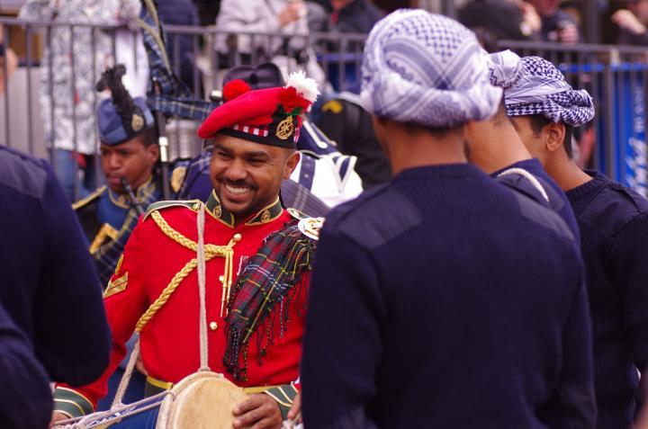 Les marins du Shabab Oman II