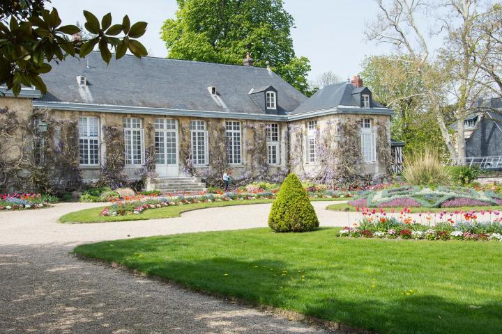 Façade du pavillon du jardin des plantes