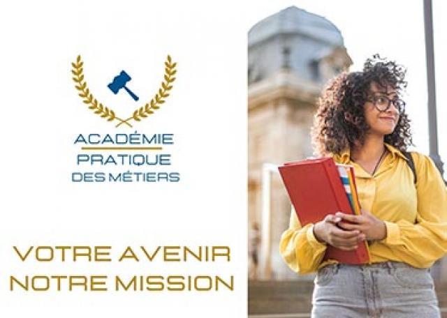 Visuel Académie Pratique des Métiers
