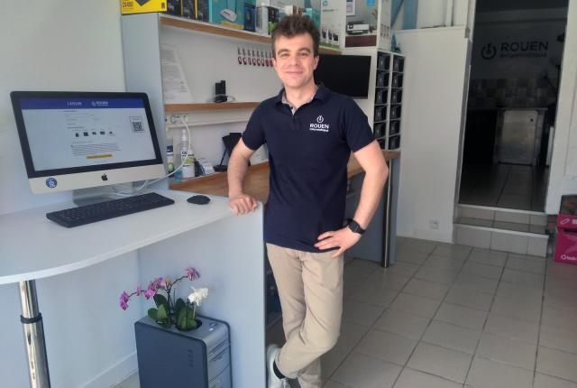 Valentin Papet de l'Atelier Rouen Informatique