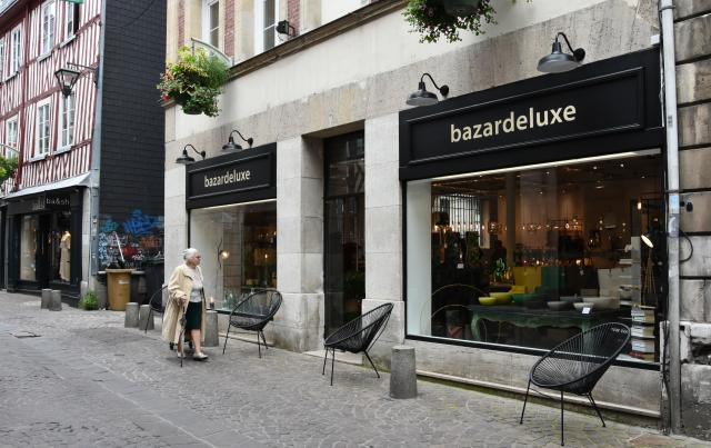 Devanture de la boutique Bazardeluxe