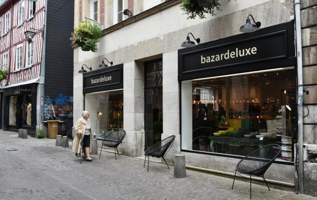 Devanture de la boutique Bazardeluxe