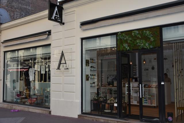 Devanture de la boutique Amaï