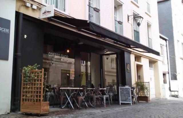 Facade extérieur de My Hometown Café