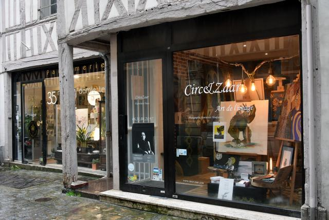 Extérieur de la galerie Circezaar