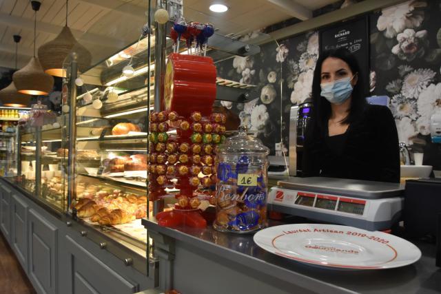 Photo intérieure de la boulangerie Léon