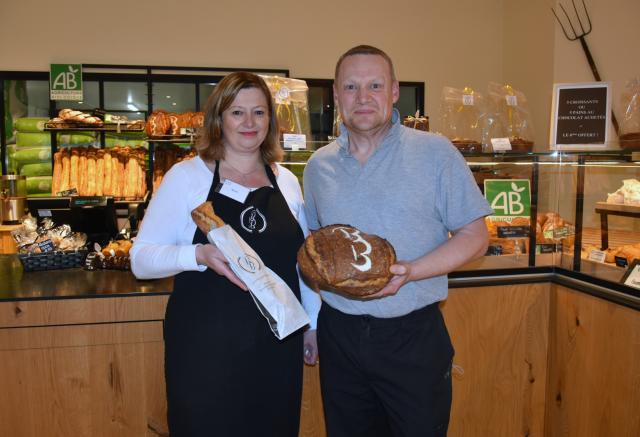 Muriel et Philippe Borda de la boulangeri Borda
