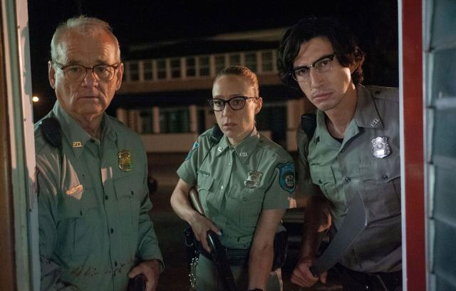 "Bill Murray, Adam Driver, Chloë Sevigny dans ""The dead don't die"""