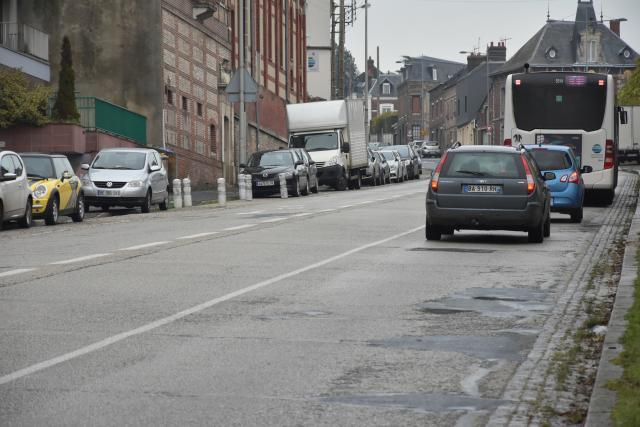 Travaux route de Neufchâtel