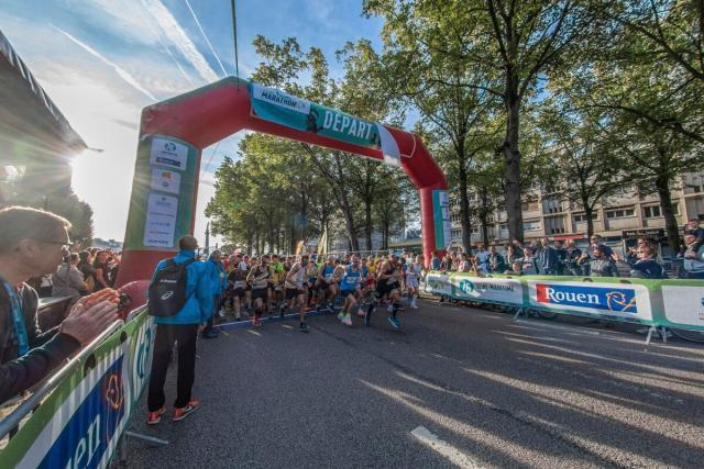 Départ Seine Marathon 2018