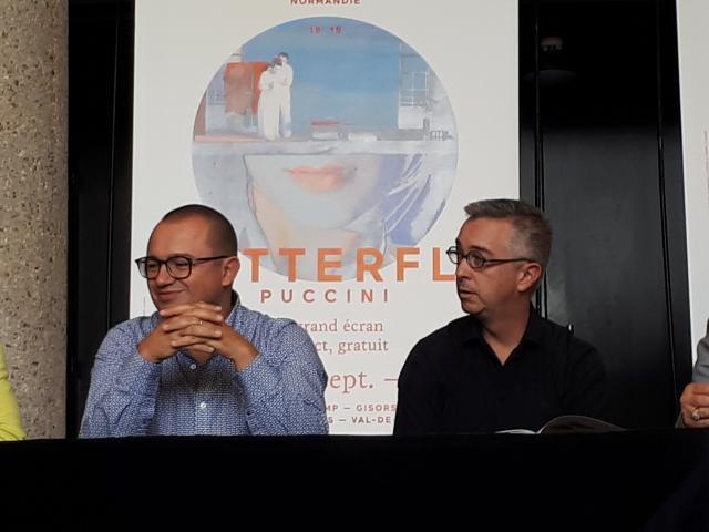 Olivier Deloueil et Jean-Philippe Clarac