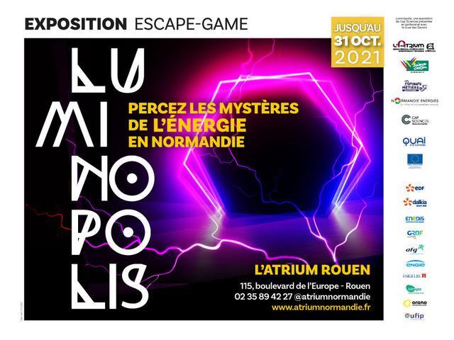 Affiche Luminopolis