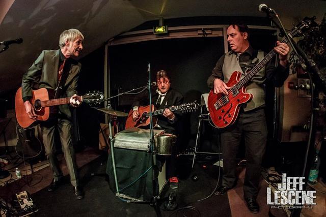 Le groupe The Volfonics sur scène