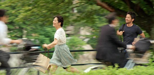 Hiroto Ogi et Akane Tatsukawa dans Lumières d'été