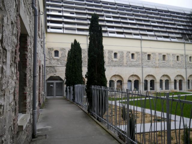 Le Cloître des Pénitents à Rouen