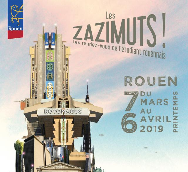 Visuel Zazimuts Printemps 2019