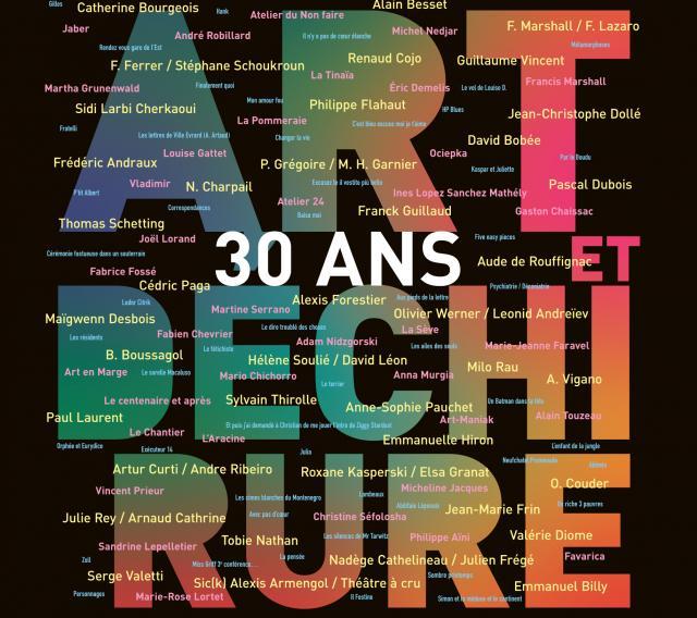 Art et déchirure fête 30 ans de festival
