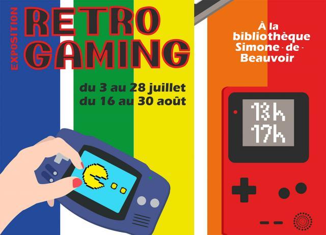 Visuel exposition Retro Gaming
