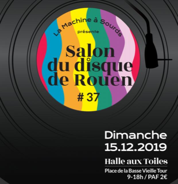Visuel du salon du disque de Rouen