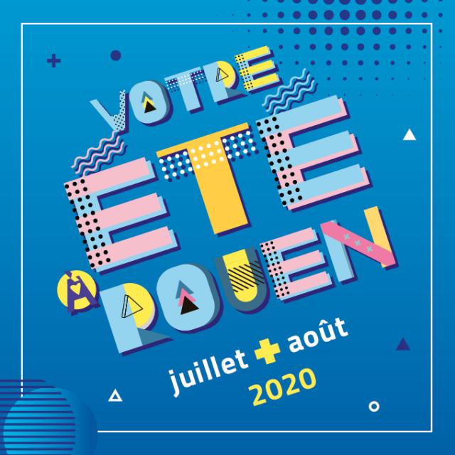 """Visuel """"Votre été à Rouen"""""""