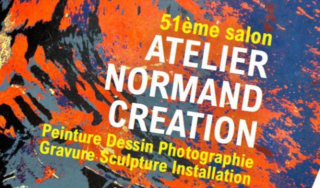 """Visuel """"Atelier normand création"""""""