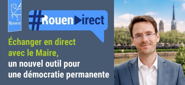 Le maire de Rouen Nicolas Mayer-Rossignol