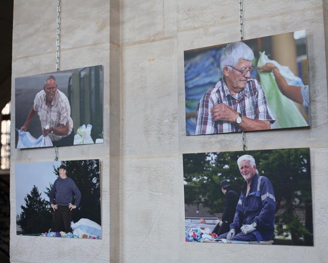 Quatre clichés de l'exposition Bouchons 276