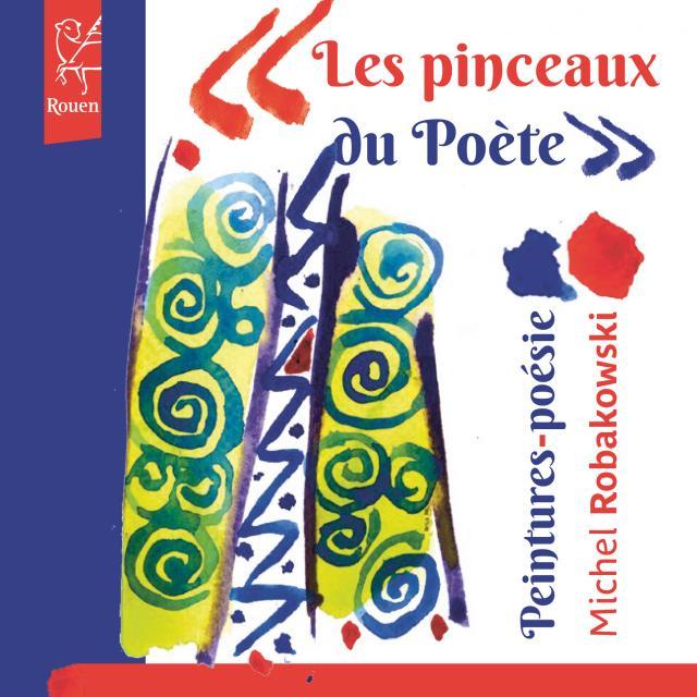 """Visuel exposition """"Les pinceaux du poète"""""""