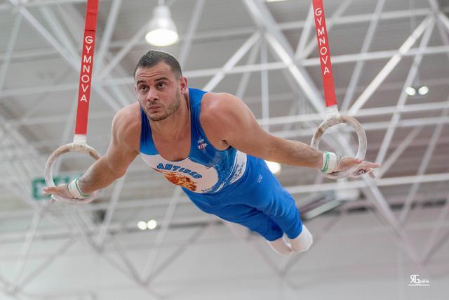 Le gymnaste Samir Ait-Said