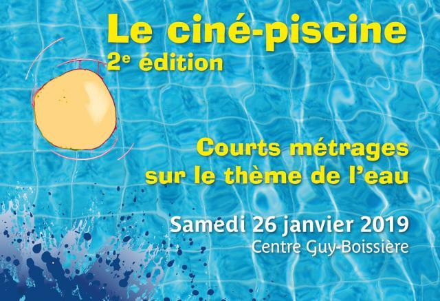Visuel Ciné-Piscine 2019