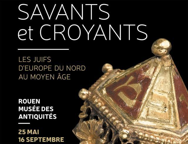 """Affiche Exposition """"Savants et croyants"""""""