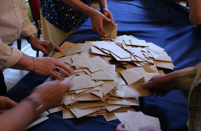 Enveloppes de vote