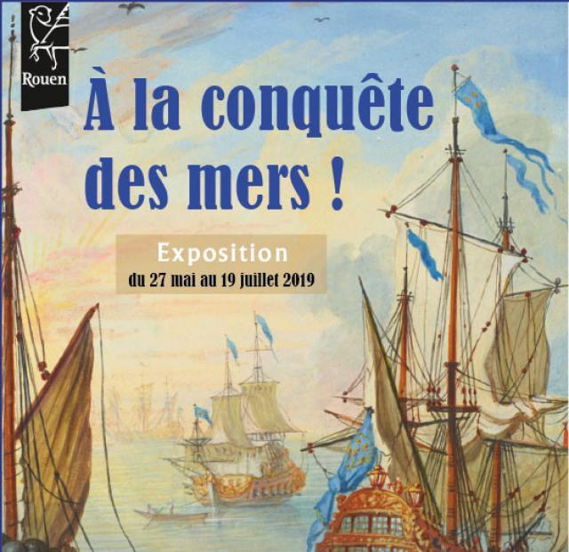 """Affiche """"À la conquête des mers !"""""""