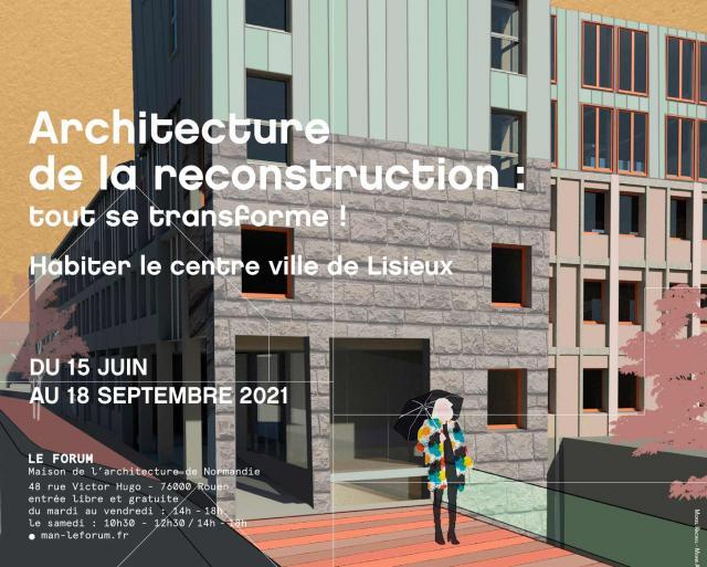 Affiche exposition Maison de l'architecture