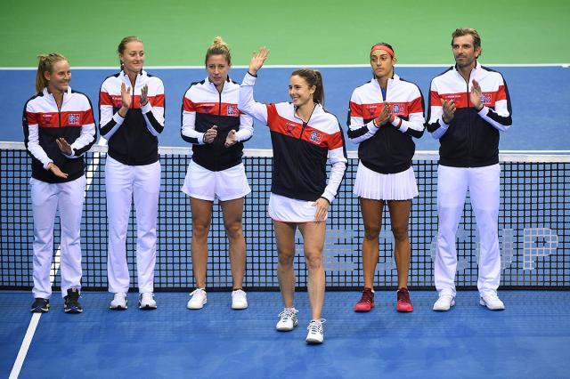L'équipe de France de Fed Cup