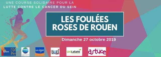 Bandeau Les Foulées roses de Rouen