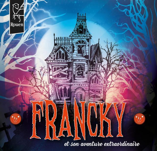 Affiche Francky et son aventure extraordinaire