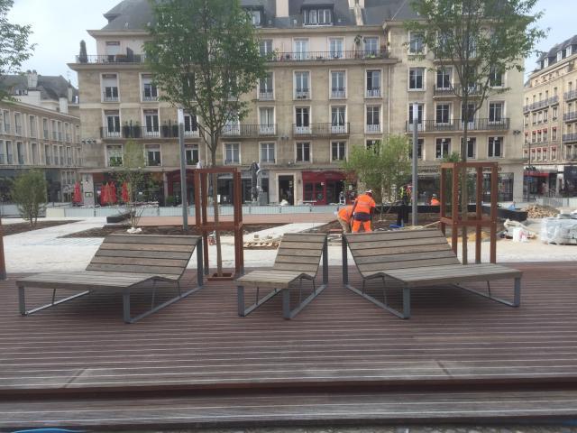 Nouvel espace de contemplation de la cathédrale de Rouen