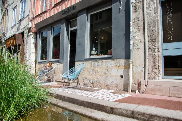 Façade Chez Juliette, rue Eau-de-Robec
