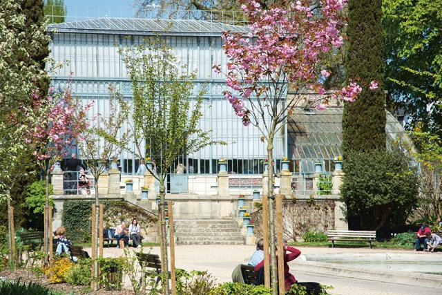 Serre du Jardin des plantes de Rouen