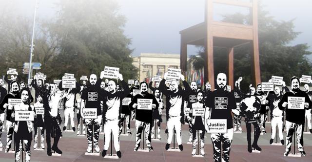 """Visuel """"Les Grandes marches"""""""