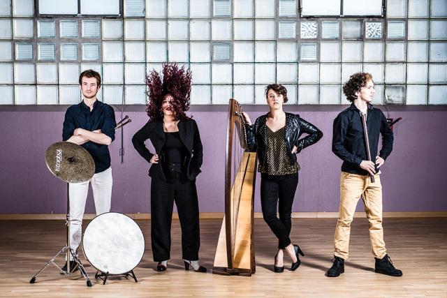 Le quatuor Lolomis