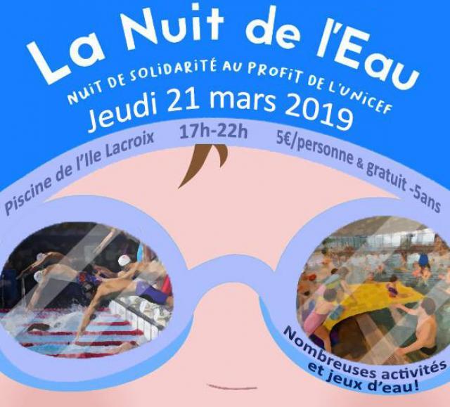 Visuel Nuit de l'eau 2019 Rouen
