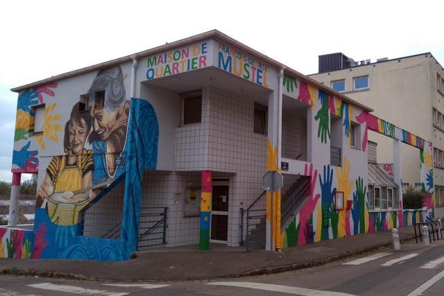 Maison de quartier Mustel à Rouen