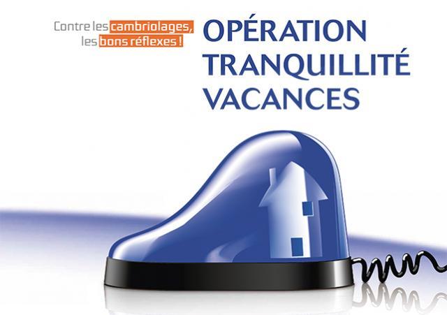 Visuel Opération Tranquillité Vacances