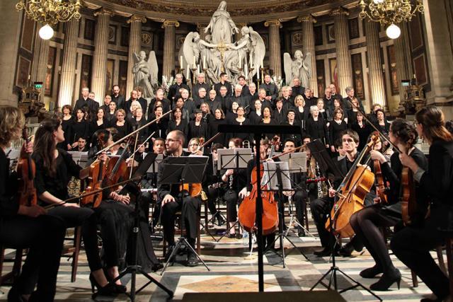 L'Orchestre Hélios au grand complet