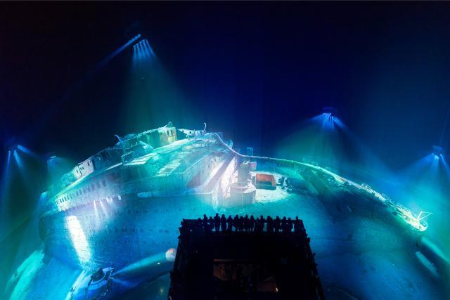 """Exposition """"Titanic, les promesses de la modernité"""""""