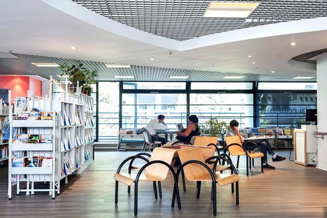 La bibliothèque Parment
