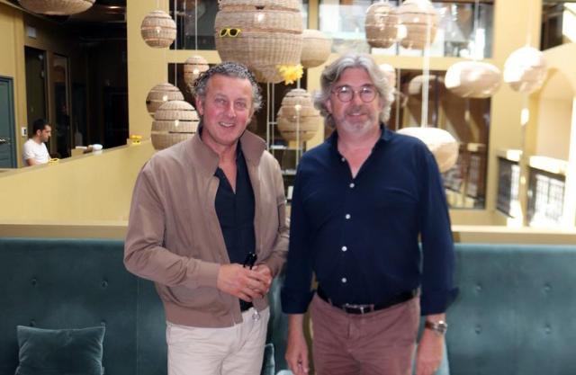 Pascal Givon et Edouard Laubiès